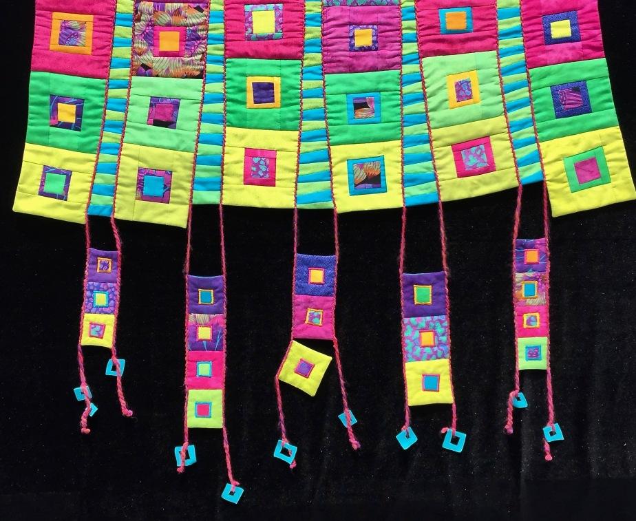 Hanging Squares detail 2